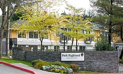 Community Signage, Park Highland, 1