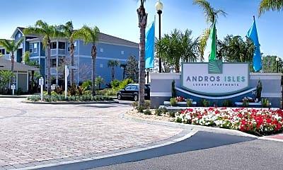 Community Signage, Andros Isles Luxury Apartments, 2