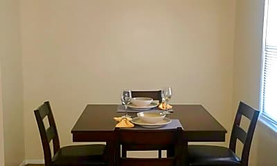 Dining Room, West Scenic Apartments, 1