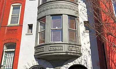 Building, 1321 T St NW, 0