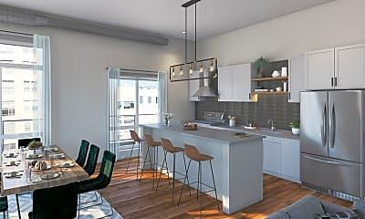 Kitchen, 205 Park Ave 208, 1