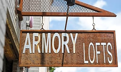 Community Signage, 1015 Chestnut St, 2