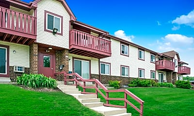 Building, Ridge View Apartments, 1