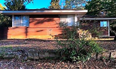 Building, 807 Gillespie St, 1