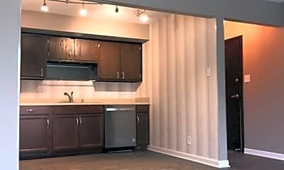 Kitchen, River Shore Apartments, 1