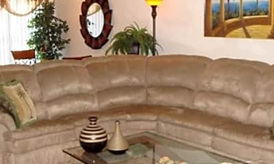 Living Room, Blackbob Court Townhomes, 2