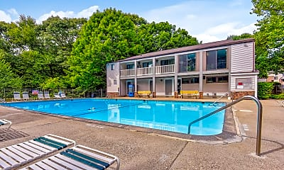 Pool, Peppertree Apartments, 1