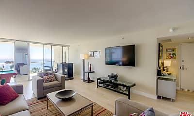 Living Room, 201 Ocean Ave 904P, 1
