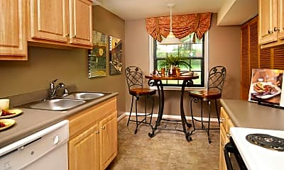 Kitchen, Spring Hill Apartments and Townhomes, 1