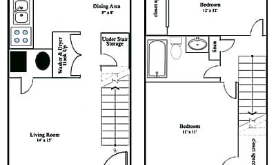Bathroom, 6806 Garden Terrace Rd, 2