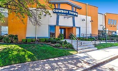 Community Signage, Cowboy Town, 0