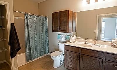 Bathroom, 100 West Main Senior Housing 55+, 2