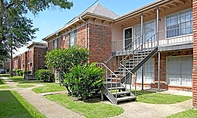 Building, Oak Alley Apartments, 1