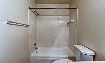 Bathroom, Bridgewood Apartments, 2