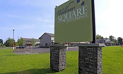 Community Signage, Willow Square of Clarence, 2