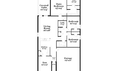 Bathroom, 825 NW 5th St, 2