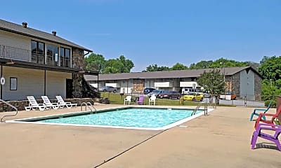 Pool, The Lodge Apartments, 0