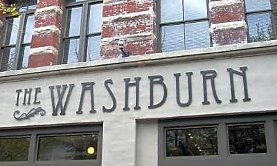Community Signage, The Washburn, 2