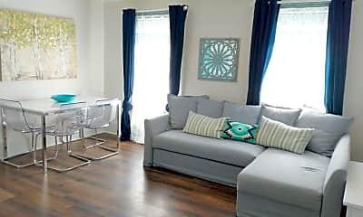 Living Room, 2 Linwood Terrace A, 1