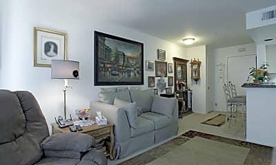 Living Room, Cypress Pointe Senior Community, 1