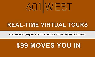 Community Signage, 601 West, 2