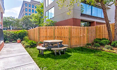 Patio / Deck, Crawford House Apartments, 2