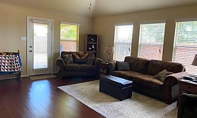 Living Room, 5800 Valley Haven Way, 1