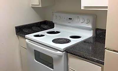 Kitchen, Pacific Oaks Apartments, 0