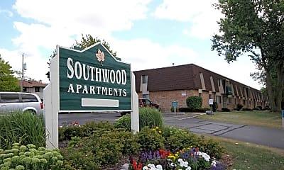 Community Signage, Southwood Apartments, 1