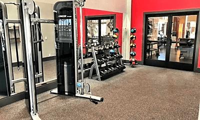 Fitness Weight Room, Mirada at La Jolla Colony, 2