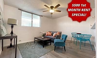 Living Room, 412 N Kuakini St, 0