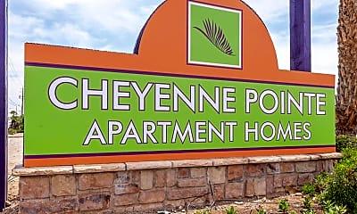 Community Signage, Cheyenne Pointe, 2