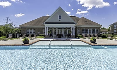 Pool, Monticello at Town Center, 1
