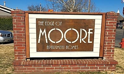 Community Signage, The Edge of Moore, 0