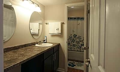 Bathroom, Rankin Square Apartments, 2