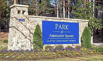 Community Signage, Park at Abernathy, 2