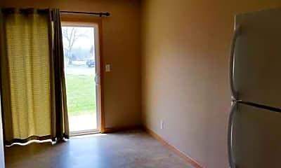 Living Room, Coffeyville Garden Apartments, 2