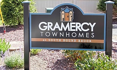 Community Signage, Gramercy Townhomes, 2