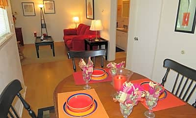 Dining Room, Lions Court Apartments:  1200 Thompson Road, 2