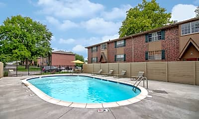 Pool, Village Gardens Apartments, 1