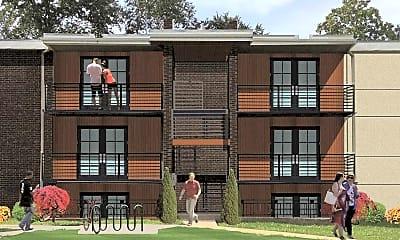 Building, Pendleton Flats, 0