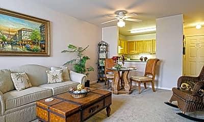 Living Room, Oakhaven Manor, 1