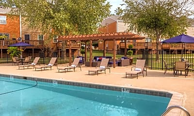 Pool, 501 Towns Townhome Apartments, 0