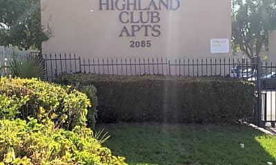 Highland Club Apartments, 1