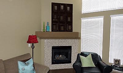 Living Room, 3995 S Dillon Way, 1