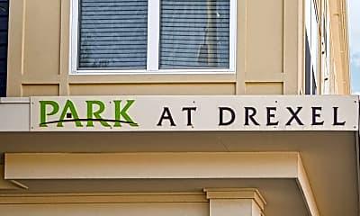 Community Signage, Park at Drexel, 2