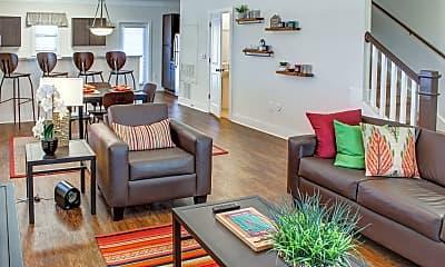 Living Room, The Retreat at Blacksburg, 1