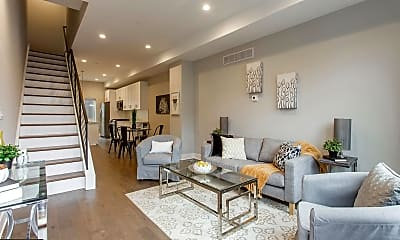 Living Room, 542 Pierce St, 1