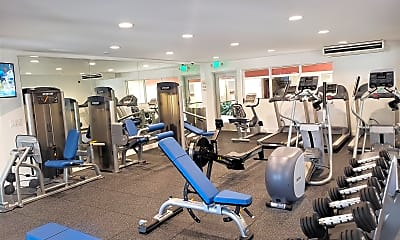 Fitness Weight Room, Park Montair, 2