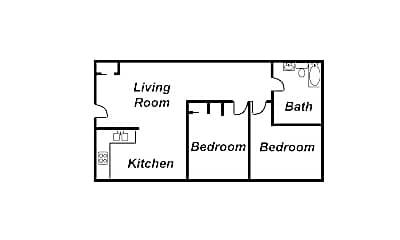 Bedroom, 3019 Woodruff Ave, 2